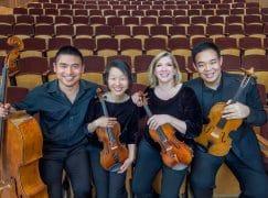 International quartet parts from newest member