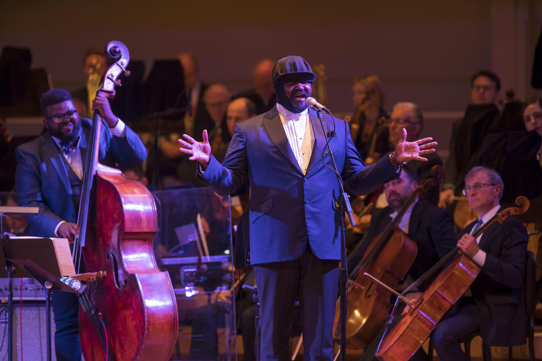 Gregory Porter raises $1 million for Chicago Symphony