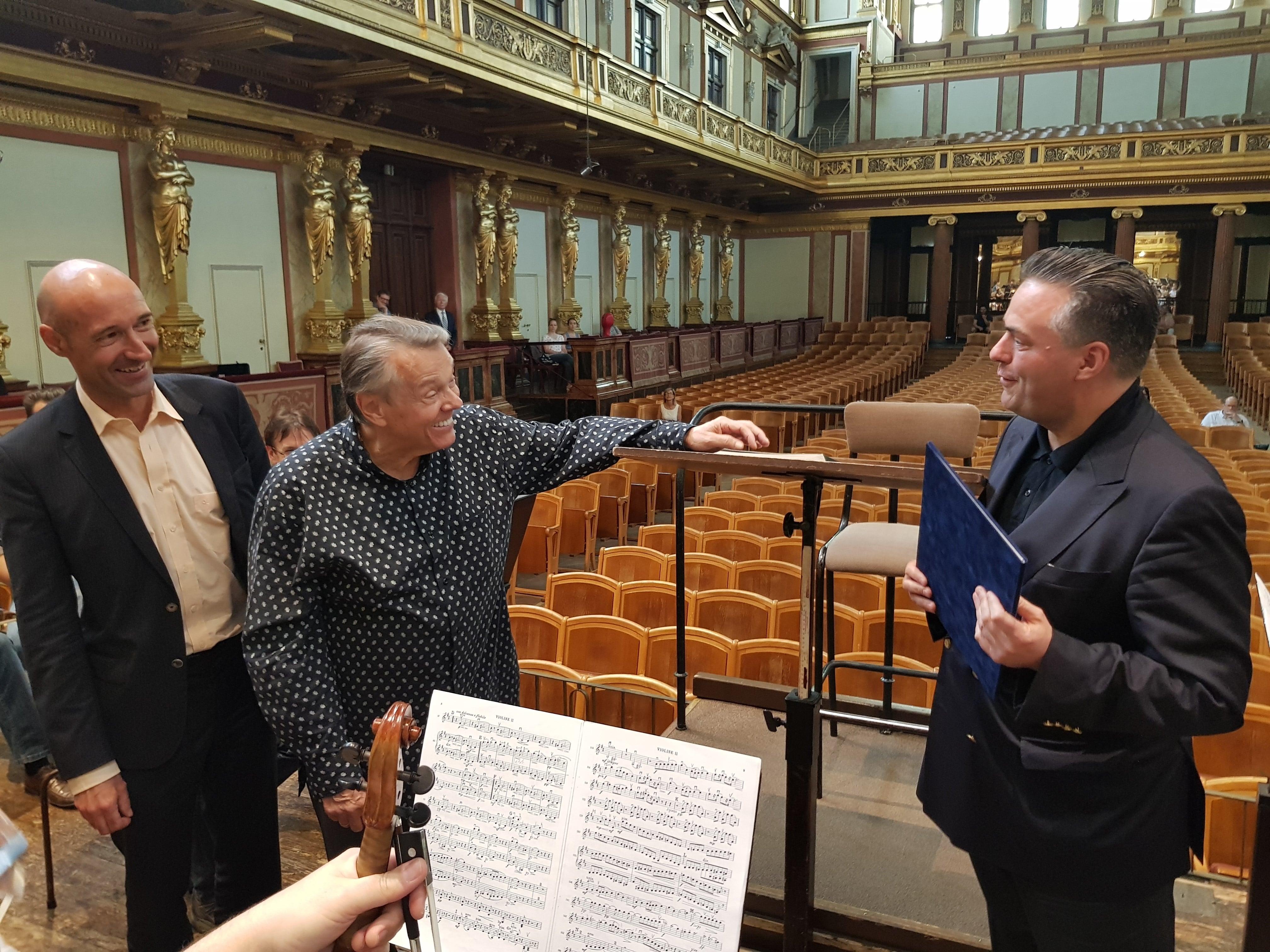 Vienna Philharmonic makes Mariss Jansons an honorary member