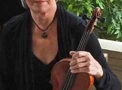 After 60 years, a violinist calls time on her orchestra