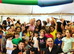 Yannick brightens up Arab-Jewish village