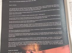 Vanessa-Mae's mother buys full-page ad to attack Times critic