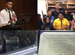Juilliard grad is poleaxed by clarinet car theft