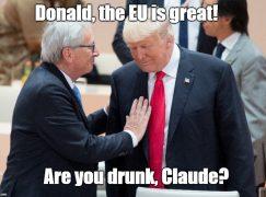 Drunker than Juncker?