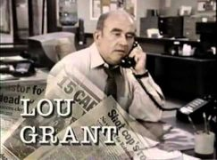 Lou Grant's composer has died