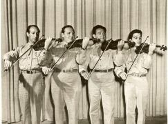Can anyone name the Army Fiddlers?