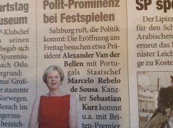 New star at Salzburg: Theresa May