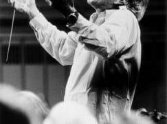 Watch what happened when Bernstein lost his baton