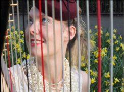 Leading UK harpist dies in road crash at 37