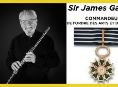 French letters for Sir James Galway