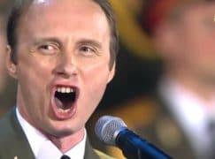 The young Putin sings Nessun Dorma