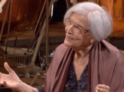 Rattle gives composer, 92, her London debut