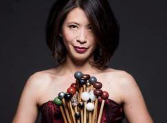In all US symphony orchs, there are just 4 women percussionists