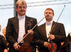 London concertmaster plays his last