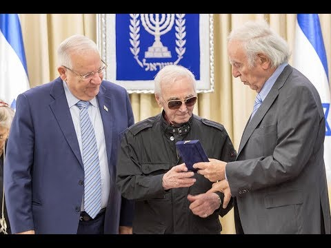 Charles Aznavour saved Jews from the Nazis