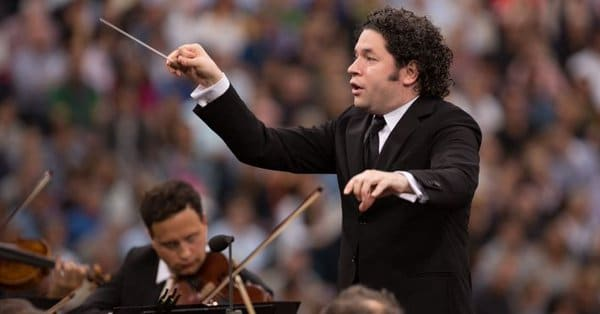 Gustavo Dudamel's with the Canaries