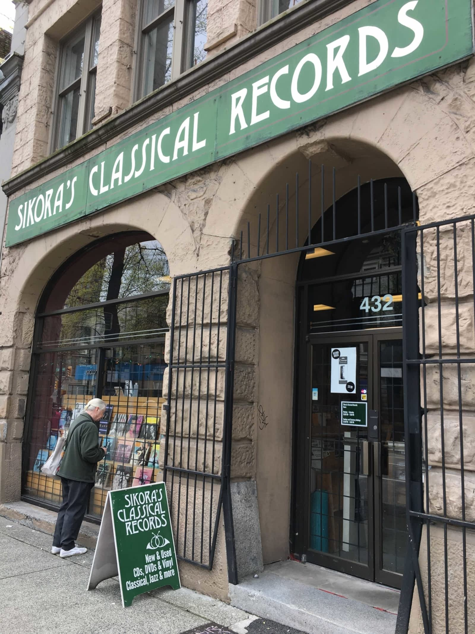Last classical record store in the west shuts down