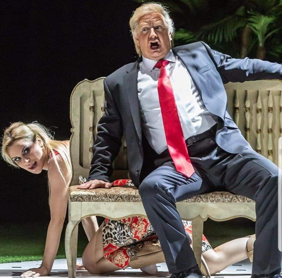 Is Rigoletto really about Donald Trump?