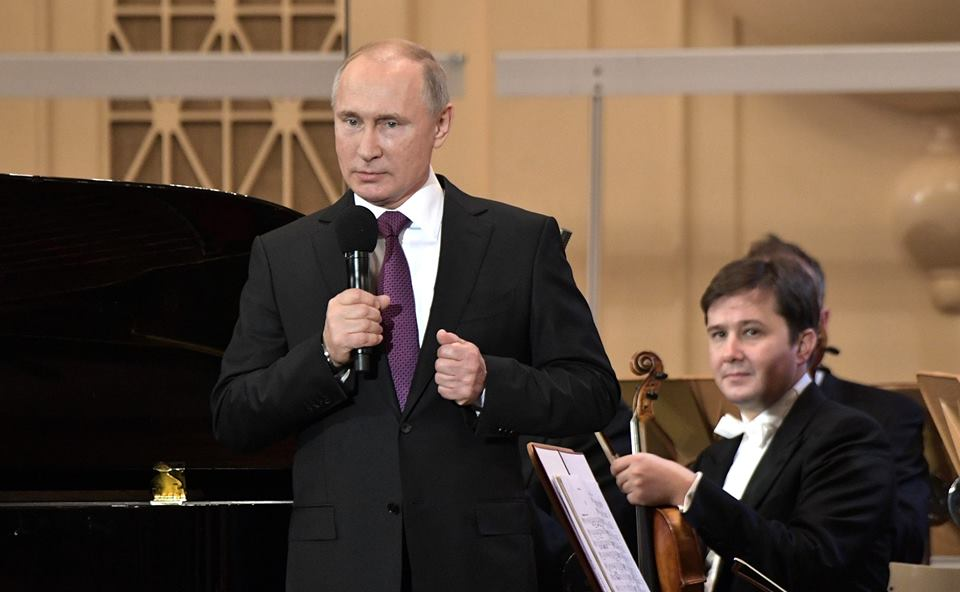Putin is expected at the Salzburg Festival
