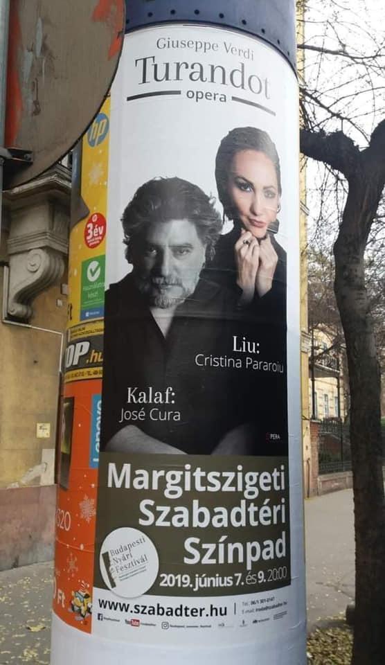 Poster of the year: Turandot, by Verdi
