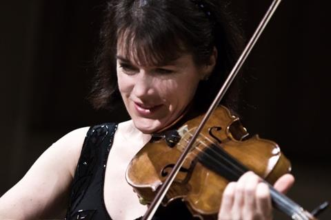 International quartet has a new violinist