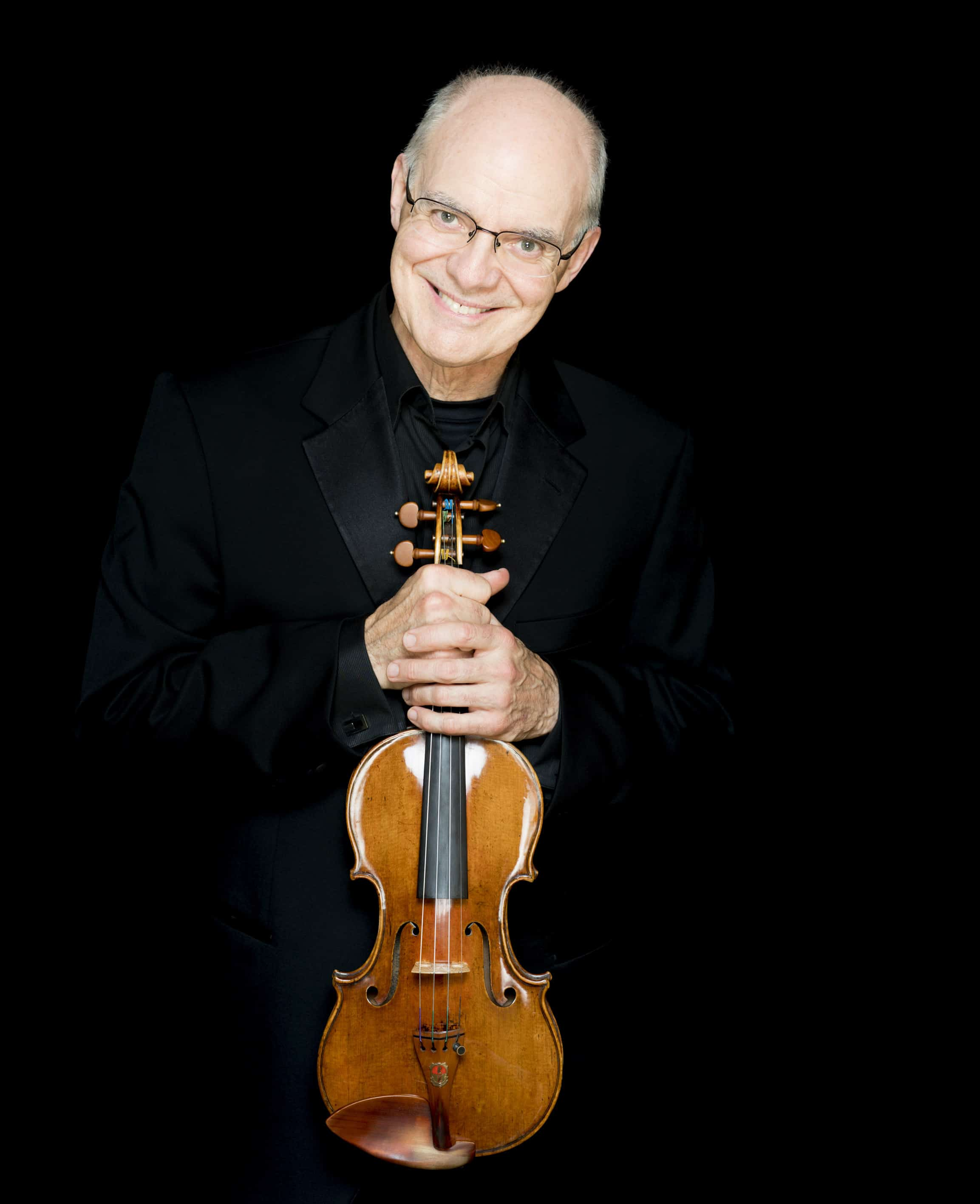Boston's concertmaster is on the mend
