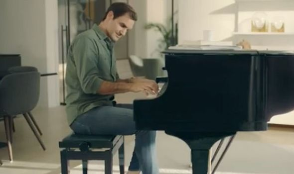 New release: Roger Federer plays Bach