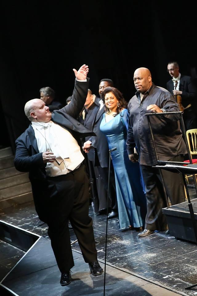 Super-sub: Vienna conductor jumps in for sick tenor