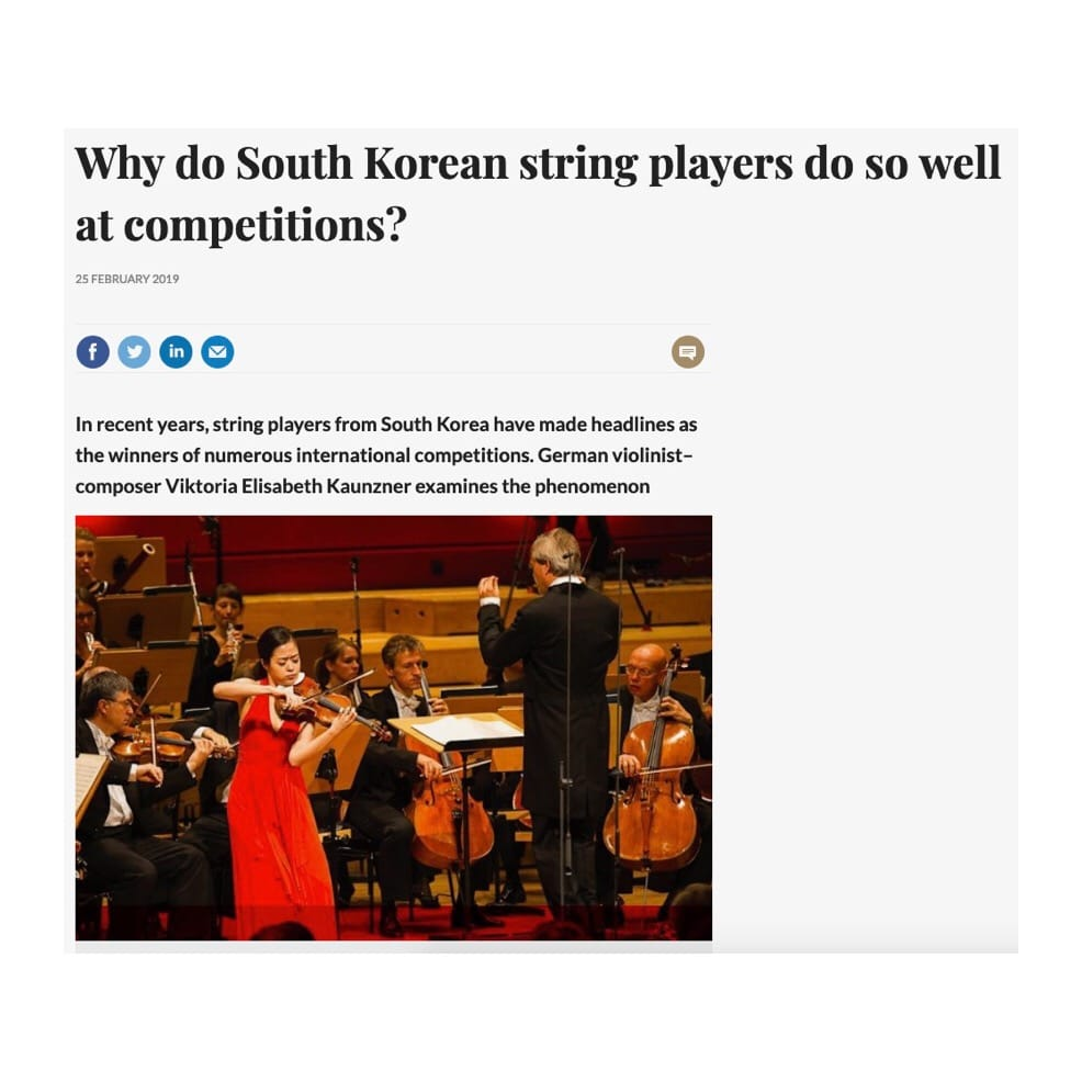 The Strad takes down offensive article on Koreans