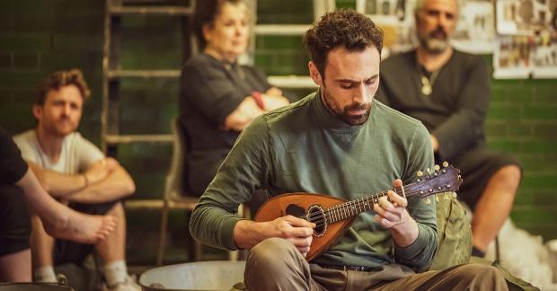 Train woe: Captain Corelli loses his mandolin