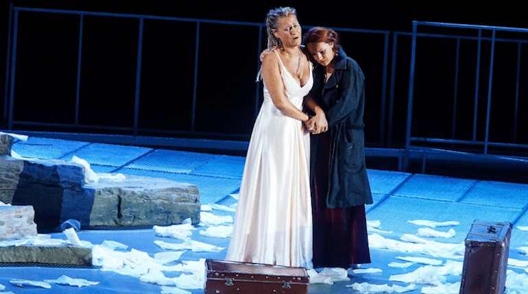 So how was it for Iulia? First review of the Met's sub-prime Tosca