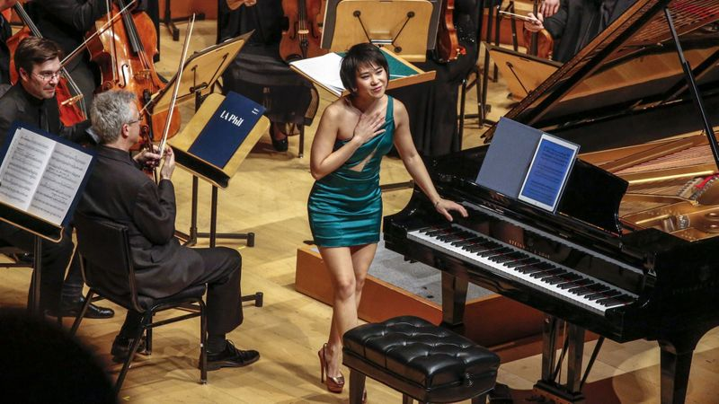 Not the Proms: Dude and Yuja will premiere Adams at Edinburgh