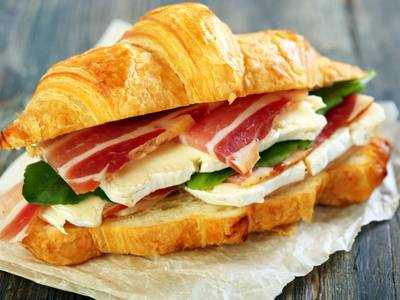 As Yiddish as a bacon croissant
