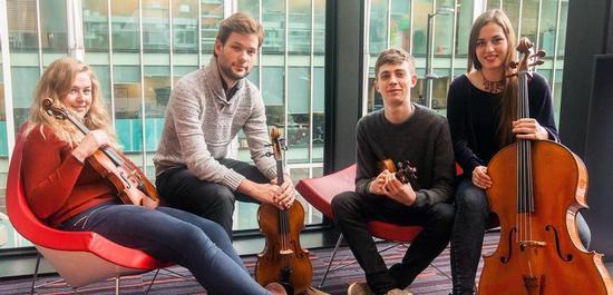UK string quartet wins coveted Joachim prize