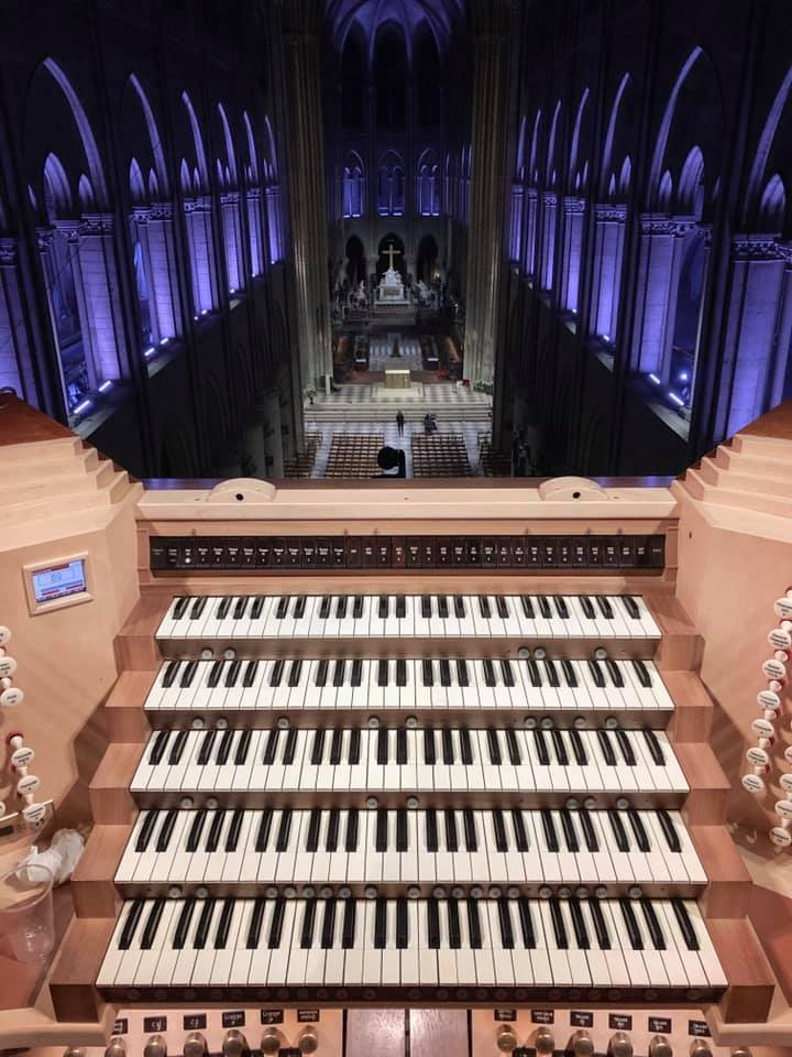 Notre Dame will not get its organ back before 2024