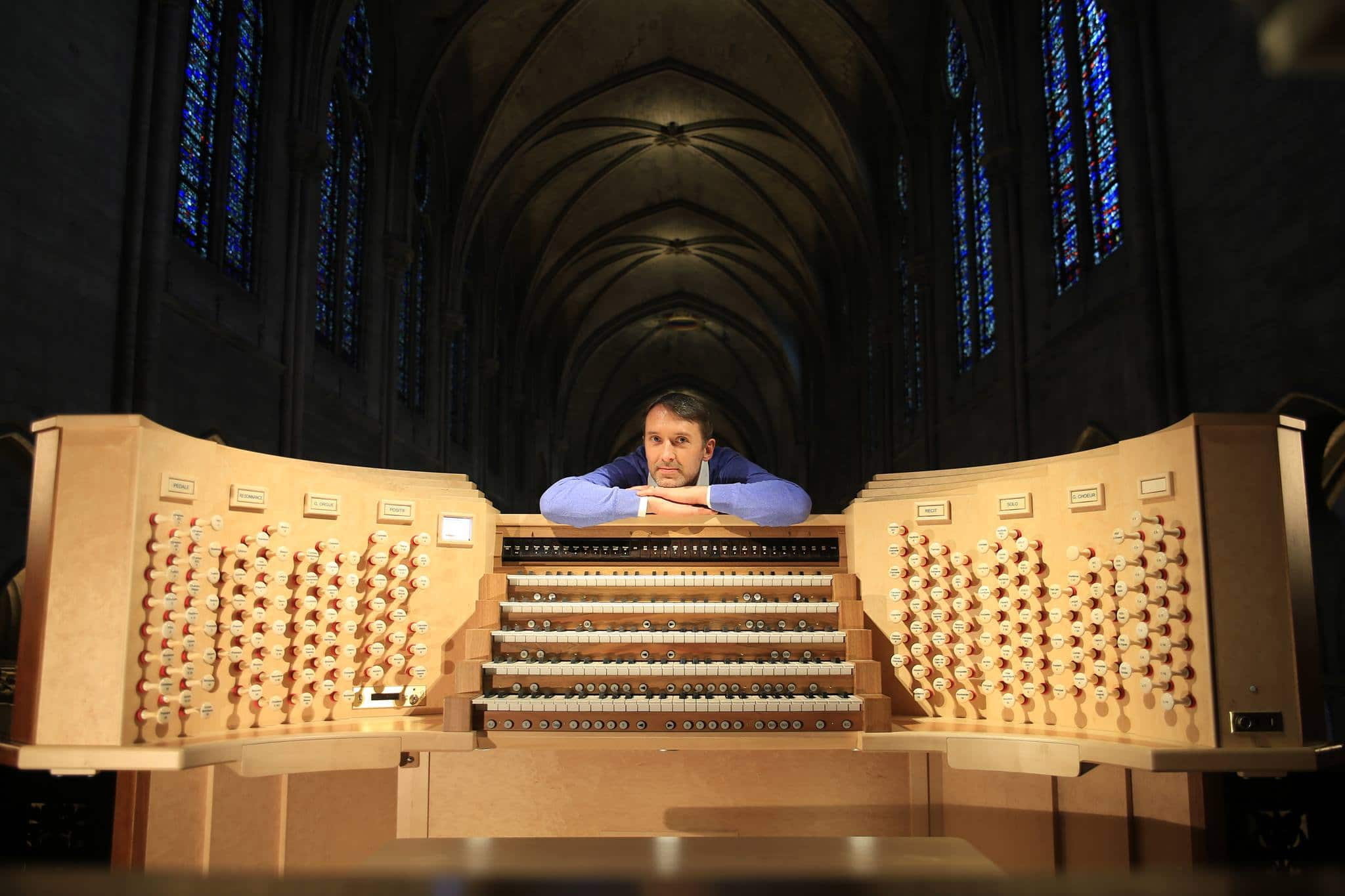 Notre Dame organist is in Germany, raising funds