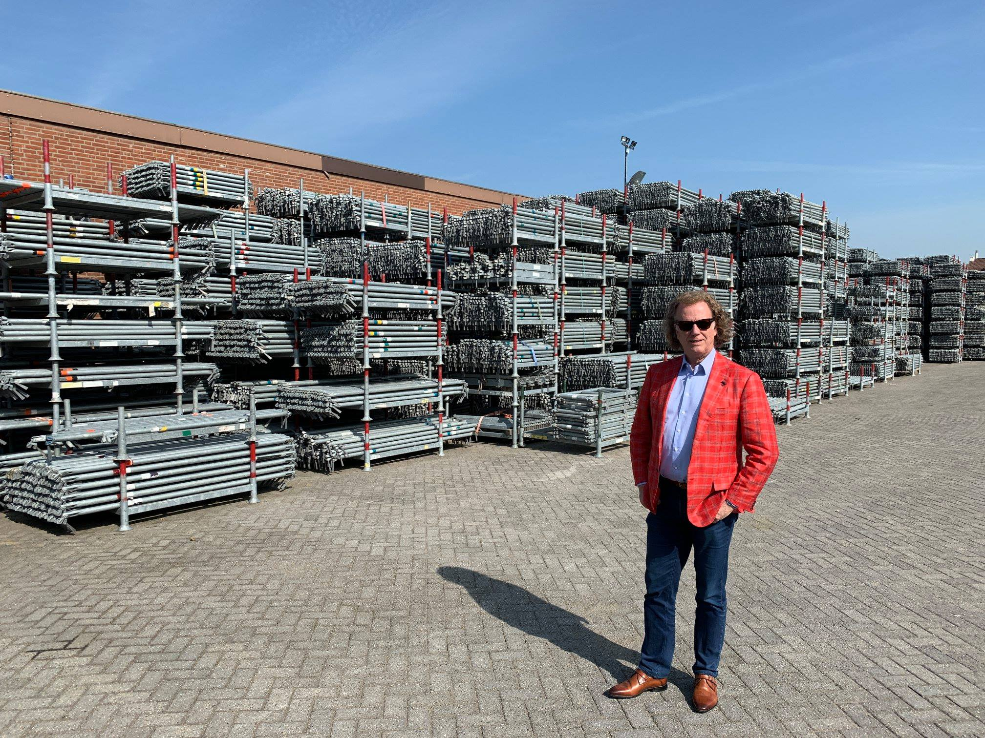 Just in: Andre Rieu loses it as Dutch drop Covid rules