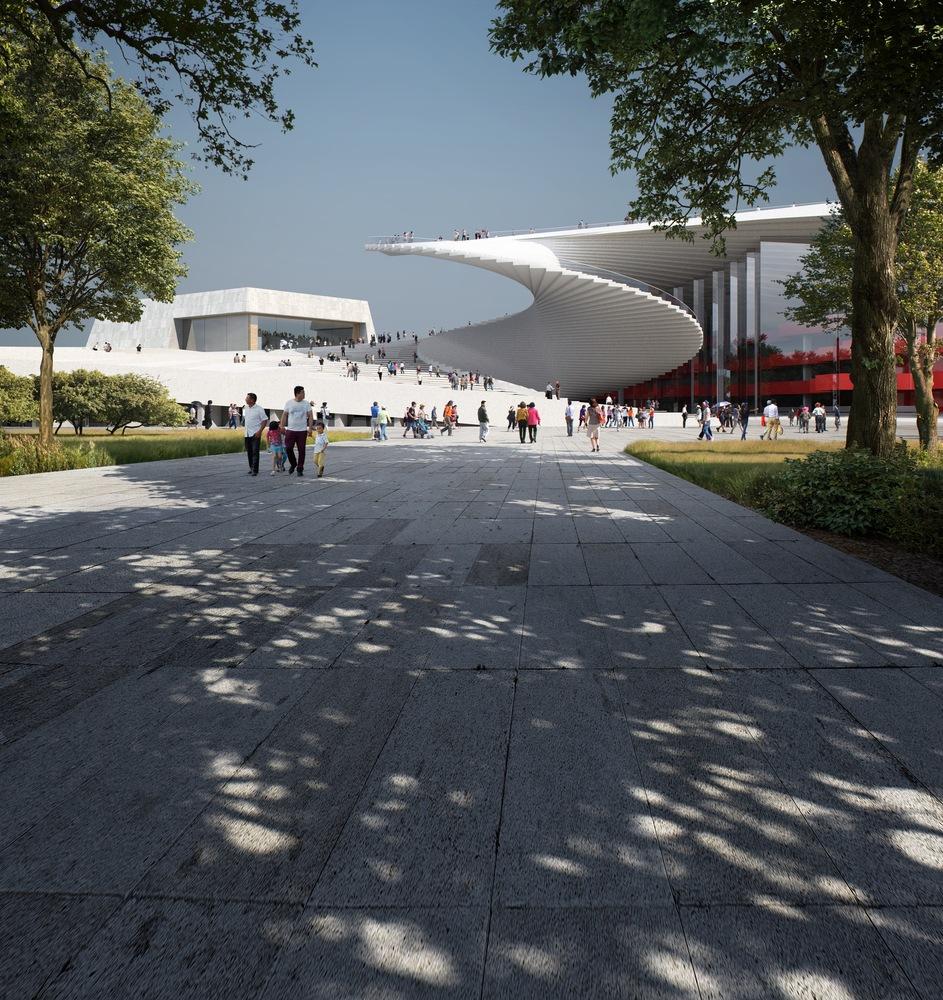 The next great opera house will look like a fan