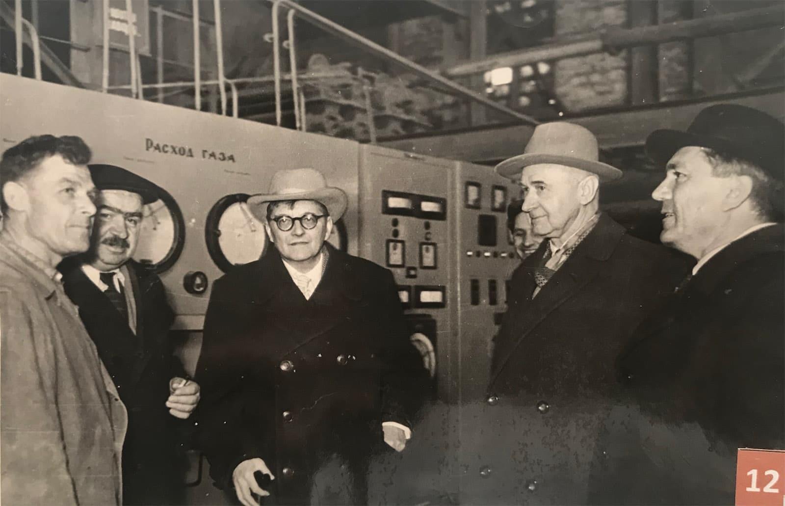 A lost friend of Shostakovich?