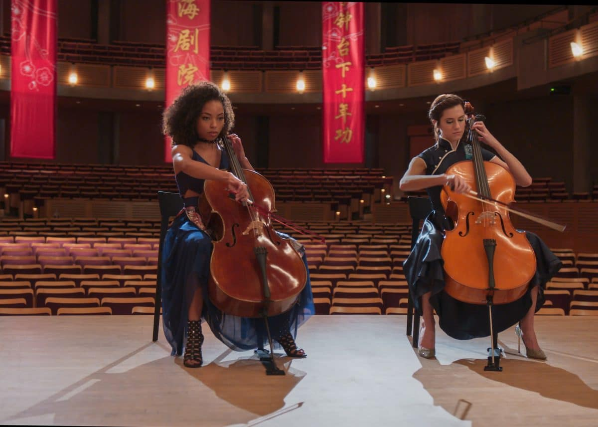 A movie about cellists is making viewers sick