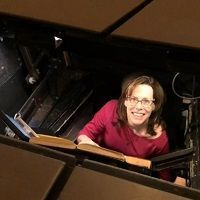 My job: Under the stage at the Met