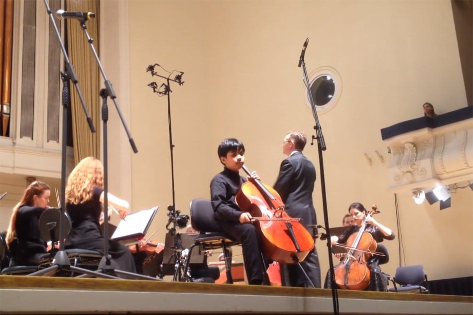 Cellist, 11, wins Estonia Young Musician