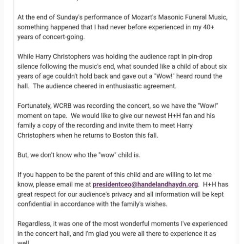 Slipped Disc | US orchestra hunts child who disrupted its concert