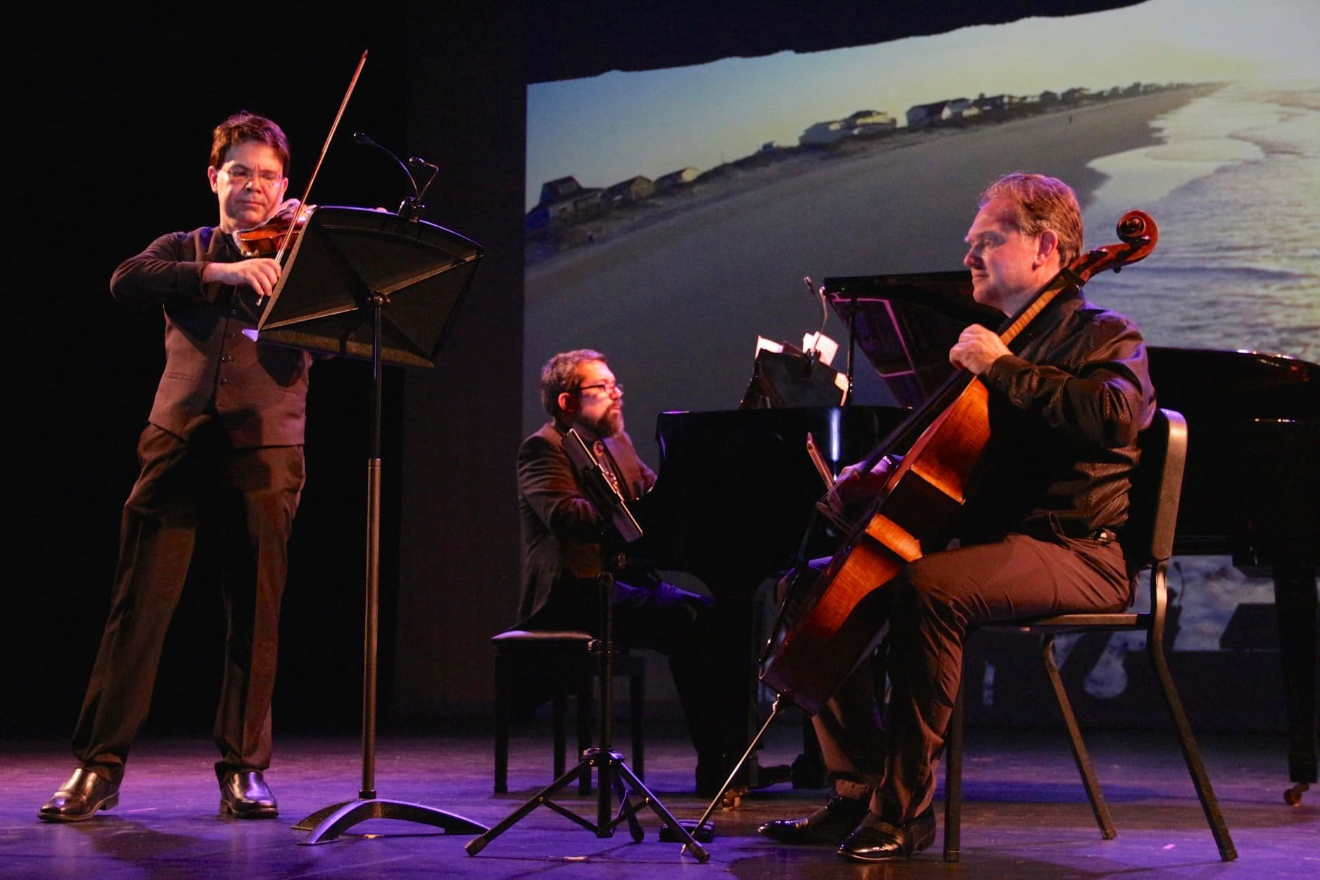 Seven months out with a broken hand, a violinist is back with a world premiere