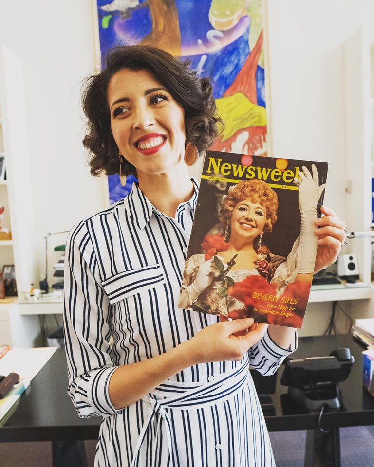 Lisette Oropesa is the Met's new prized object