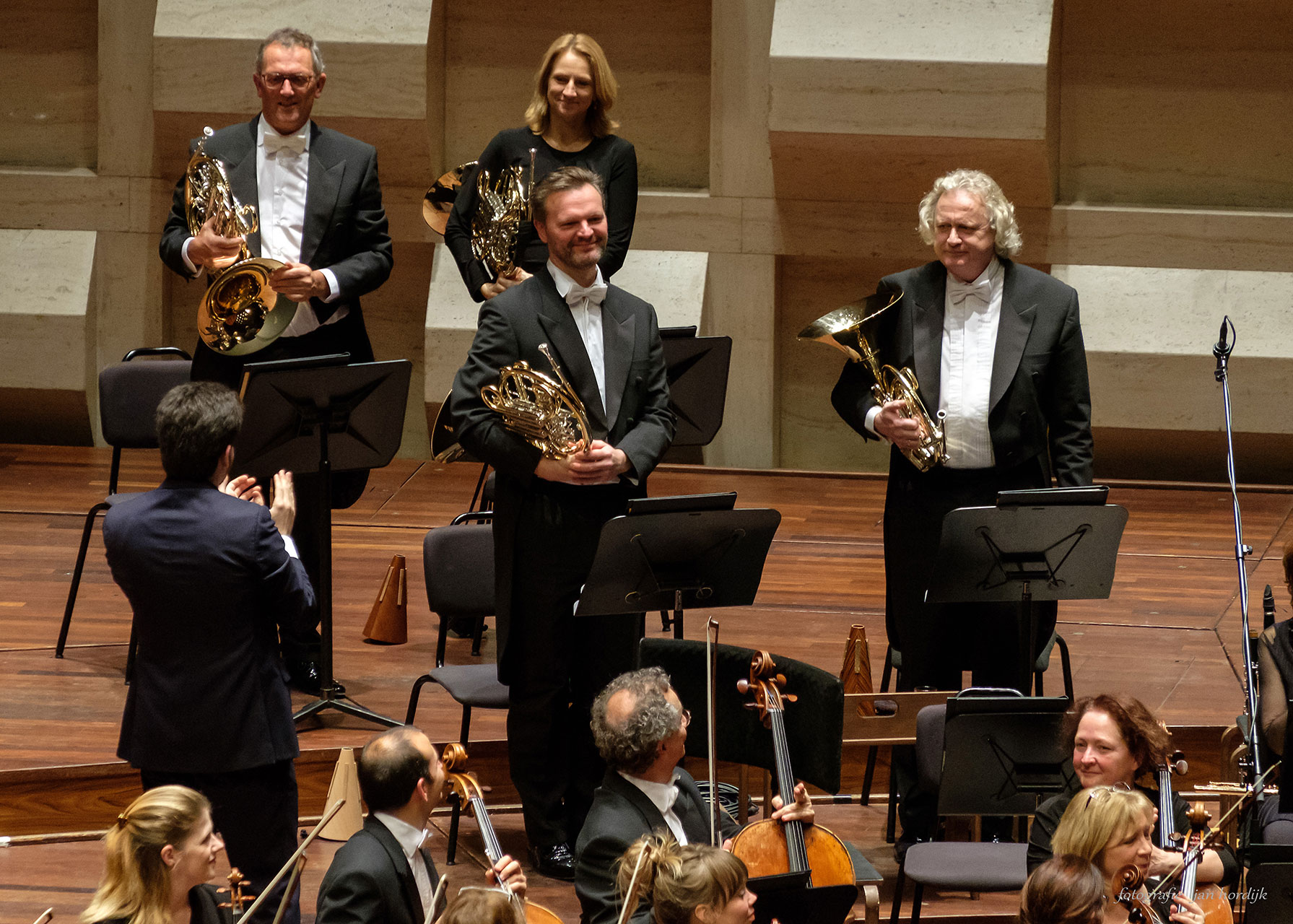 Rotterdam releases two veteran horns