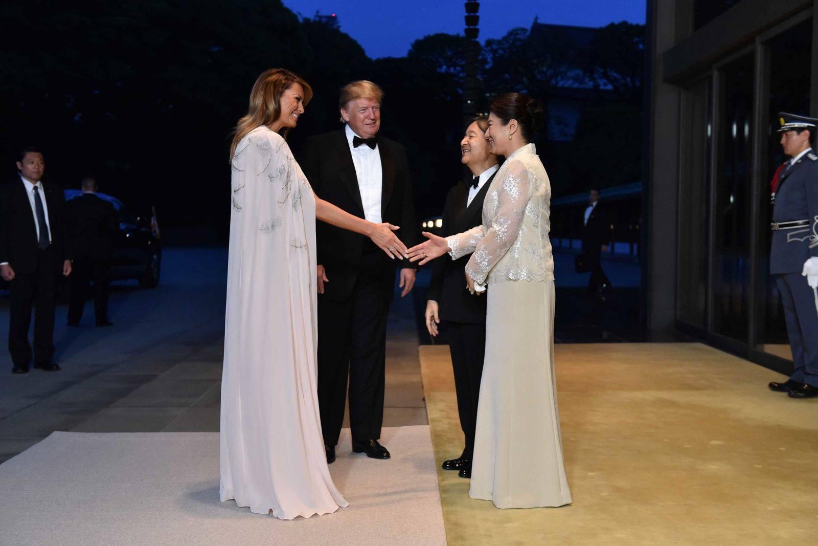 Where President Trump bought a viola for Emperor Naruhito