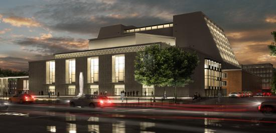 Half a billion to renovate a very late opera house