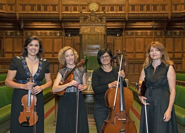 House of Commons forms a string quartet