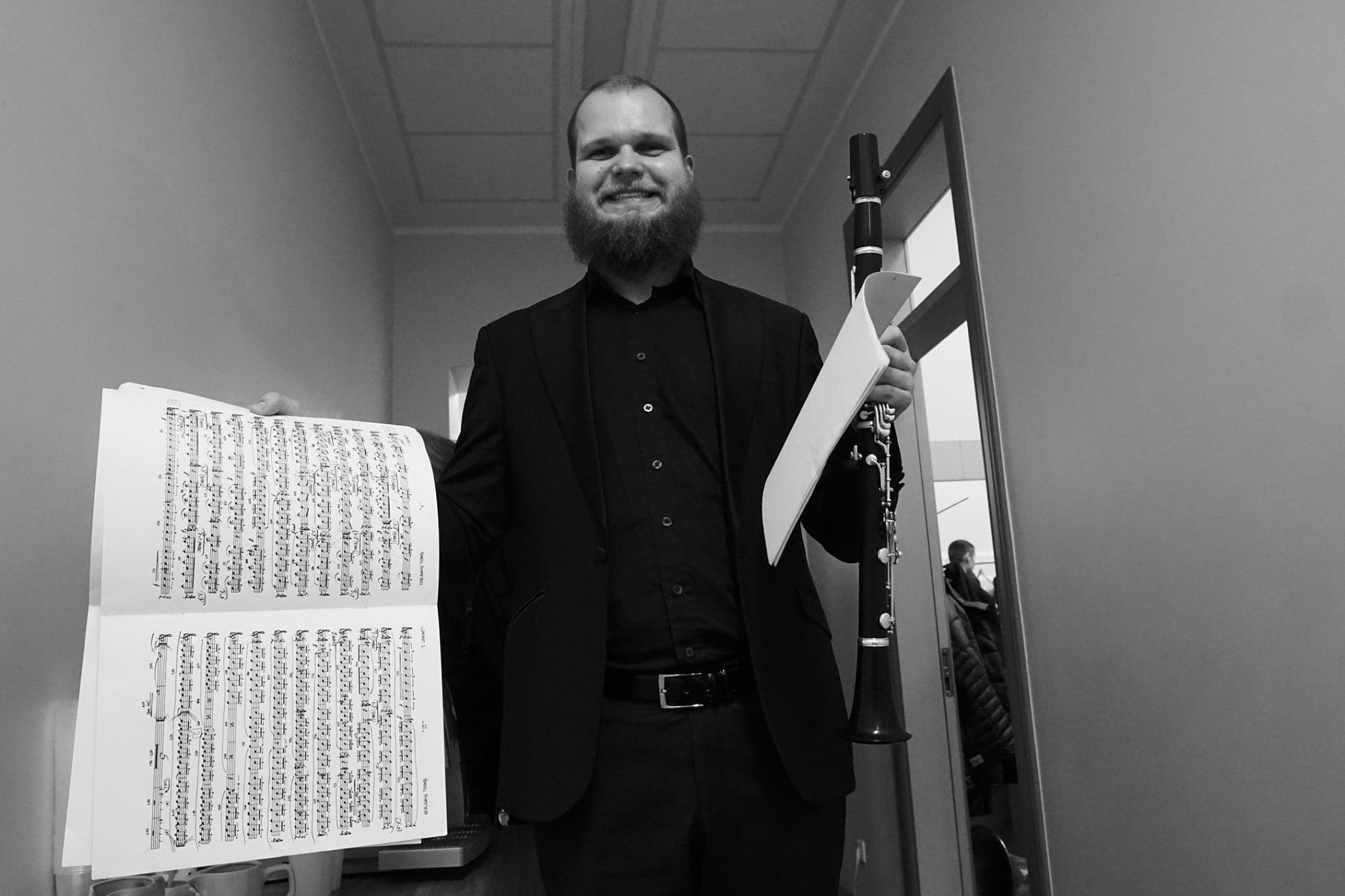 Tragic death of international clarinetist, 29